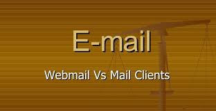 Web-based Email or Email Client. Which is Better?